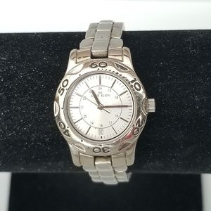 Anne Klein Stainless Steel Watch w/ Bezel